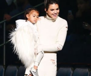 north west and kendall jenner image