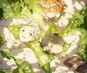 anime, emma, and tpn image