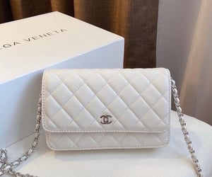 bags, chanel, and white image