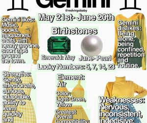 aesthetic, astrology, and gemini image