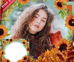 flores, plantillas, and marcos para fotos image