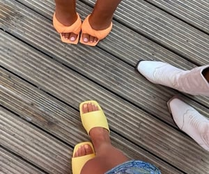 cowboy boots, summer, and white shoes image