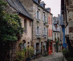 dinan, france, and places image
