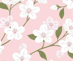 background, blossom, and cherryblossom image