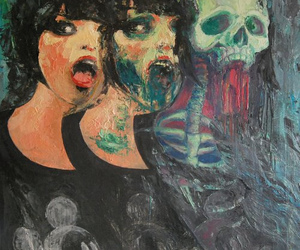 Alice Glass, Baptism, and colorful image