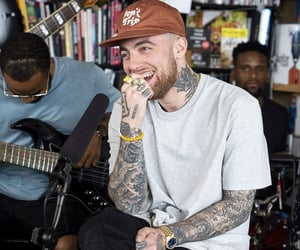 music, mac miller, and self care image