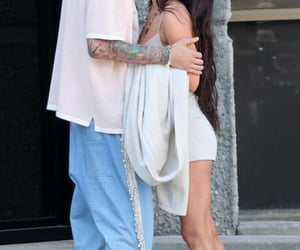 couple, kiss, and la image