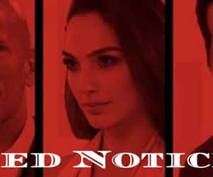 red notice and red notice movie trailer image
