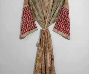 gown, women's clothing, and kimonostyle image