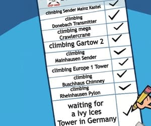 list, climbing, and germany image