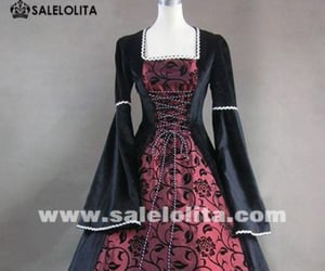 medieval dresses, medieval clothing, and medieval gown image