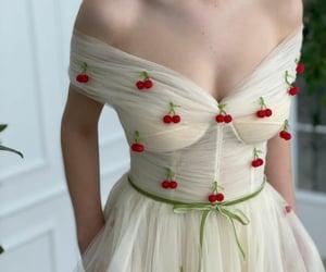 cherries, corset, and creme image
