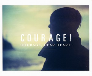 courage, dark, and dear image