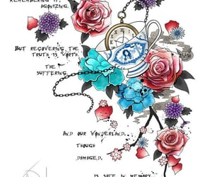 alice, art, and quote image