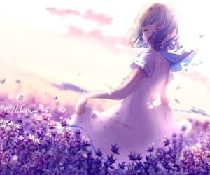 anime, art, and cute anime girl image