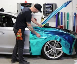 vinyl wrap car and automotive vinyl wrap image