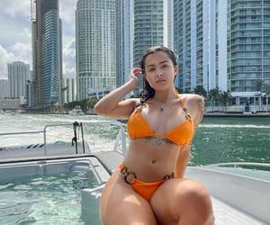 female, model, and malu trevejo image