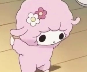 icon, pink, and sanrio image