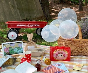 aesthetic, asia, and picnic image