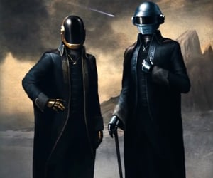 abel, After Hours, and daft punk image