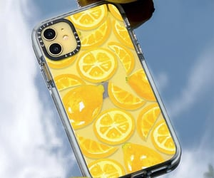 lemon, yellow, and phonecase image