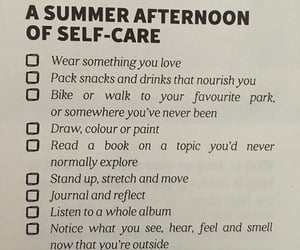 summer, self care, and aesthetic image