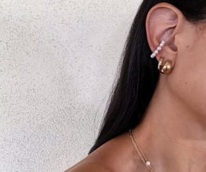 accessories, earrings, and street style image