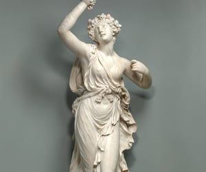 bacchus, fine art, and neoclassicism image