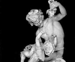 cupid, fine art, and satyr image