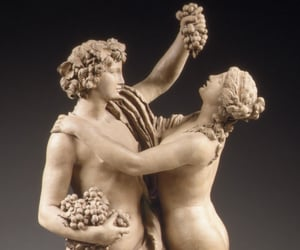 bacchante, bacchus, and dionysus image