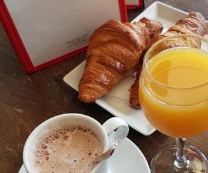 breakfast, cafe, and drink image
