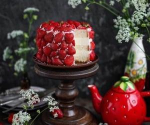 delicioso, fresa, and comida image