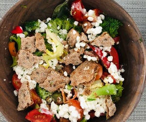 bowl, vegetables, and healthy food ideas image