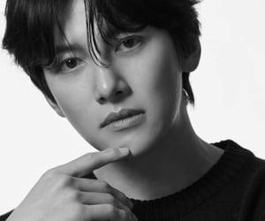 black and white, ji chang wook, and korean image