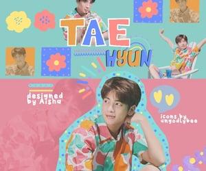 edit, txt, and taehyun image