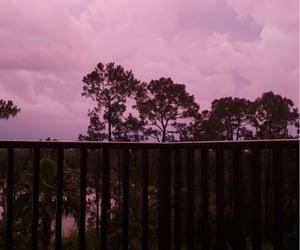background, sky, and balcony image