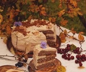 cake, cottagecore, and forest image