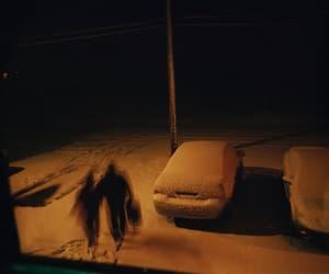 snow, alternative, and dark image