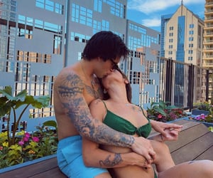 baby, cute couple, and goals image
