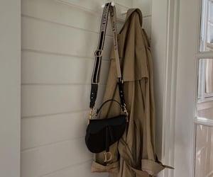 bag, coat, and dior image