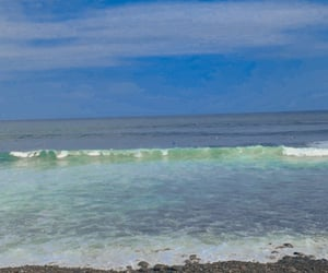 blue, surf, and el salvador image