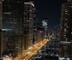 chicago, city, and cityscape image