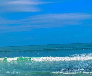 blue, pacific, and surf image