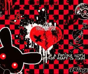 brokenheart, grunge, and lovely image