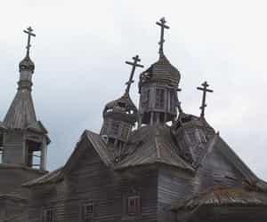 abandoned, church, and creepy image