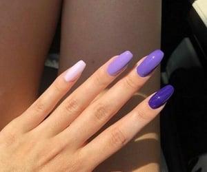 Blanc, couleurs, and nail polish image