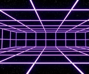 futuristic and neon image