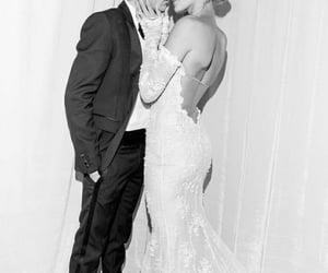 dress, wedding, and justin bieber image