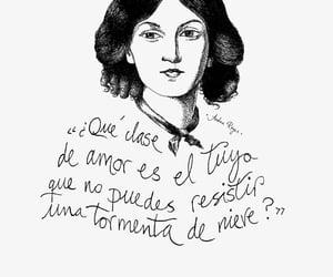 amor, emily bronte, and frases en español image