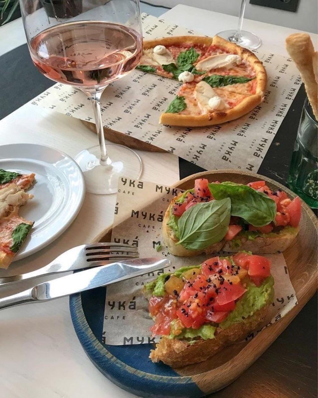 aesthetic, bruschetta, and eat image